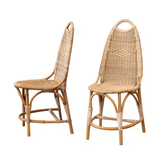 Vintage Cane Side Chairs