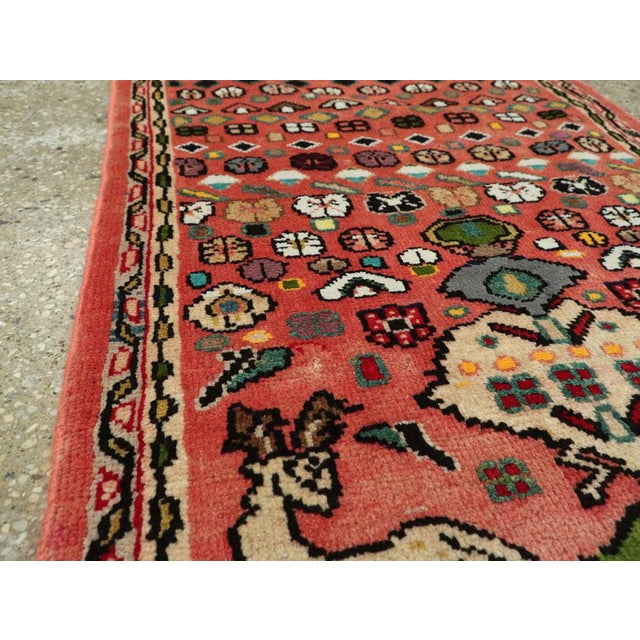 """Vintage Persian Mahal Rug – Size: 2' 1"""" X 4'4"""" For Sale In New York - Image 6 of 9"""