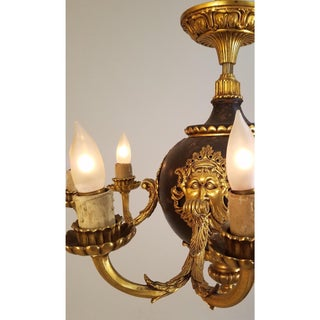 Circa 1910 French Empire Style Bronze 8 Light Chandelier Preview