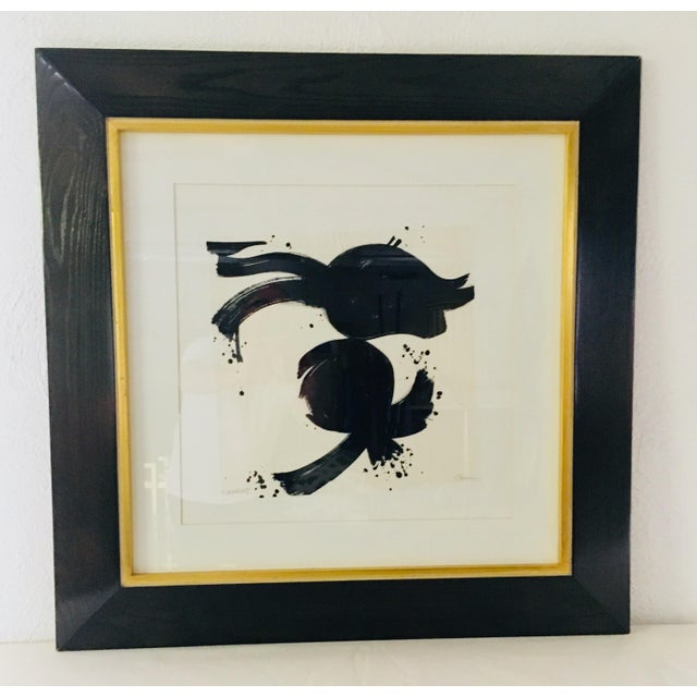20th Century Abstract Ink on Paper For Sale - Image 10 of 10