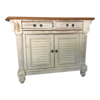 Solid Wooden Kitchen Island For Sale