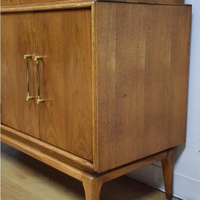 Keller Walnut Hutch Credenza - Image 6 of 9