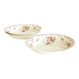 Vintage Royal Doulton Chiltern Earthenware Vegetable Serving Bowls - Set of 3 For Sale