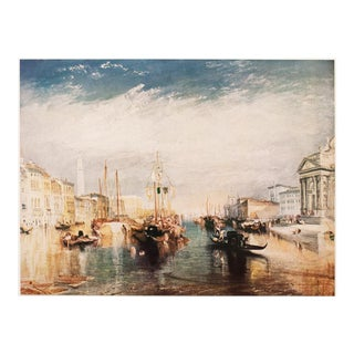 "1950s Joseph W. Turner ""Venice, Grand Canal"", First Edition Lithograph For Sale"