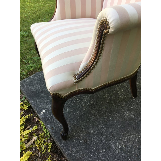 Late 20th Century Striped Perfection Chair For Sale - Image 11 of 13