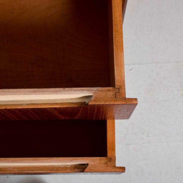 Brown Mid-Century Danish Modern Koford Larsen Era Teak Receiving Desk Bookshelf For Sale - Image 8 of 11