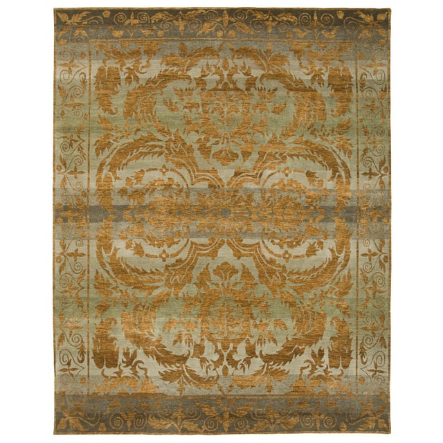 From our Legacy Collection, this handmade Tibetan rug can be customized in color, shape and size upon request. Standard...