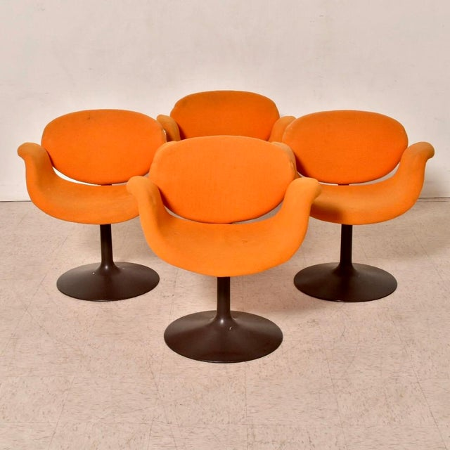 1960s Vintage Artifort Tulip Chair by Pierre Paulin For Sale - Image 5 of 7