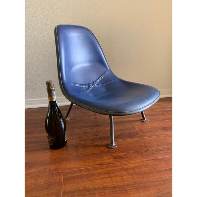 Metal Herman Miller Eames Reconfigured One of a Kind Shell Chairs For Sale - Image 7 of 13