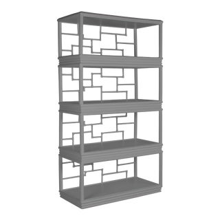 Tibet Etagere - Light Gray For Sale