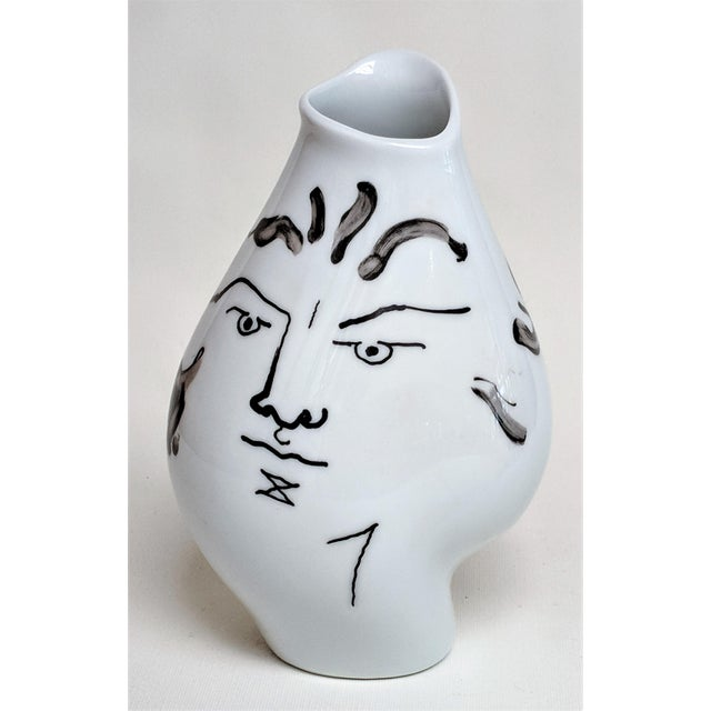 Jean Cocteau for Classic Rose Rosenthal Group Vase For Sale - Image 11 of 11