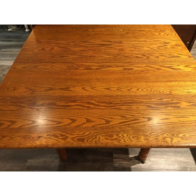 Antique Kitchen Table - Image 6 of 6