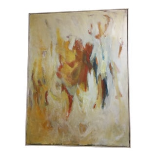 Large Scale Abstract 1959 by Betty Sieler For Sale