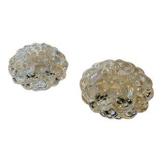 Orrefors Crystal Votive Holders - a Pair For Sale