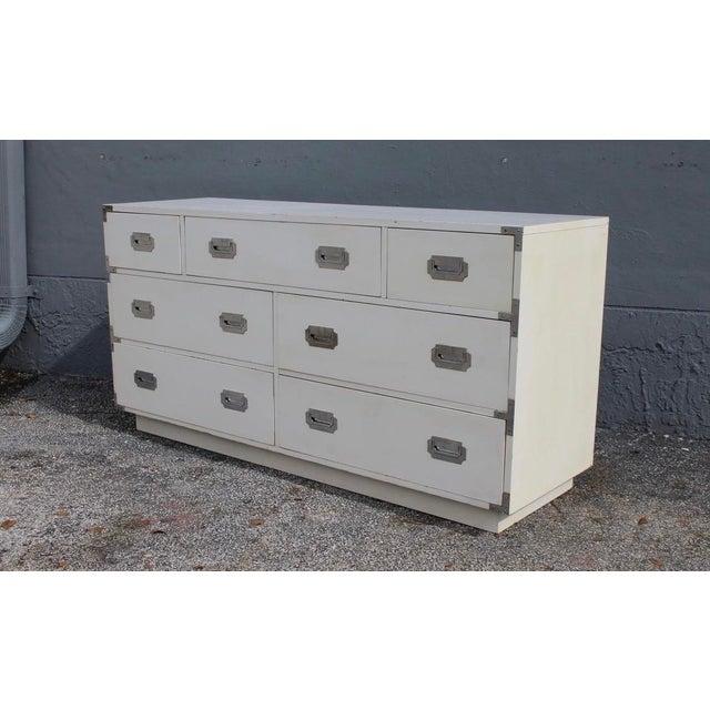Contemporary Contemporary Dixie Campaigner Lowboy Dresser For Sale - Image 3 of 5