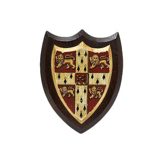 1940s Cambridge University Coat of Arms For Sale