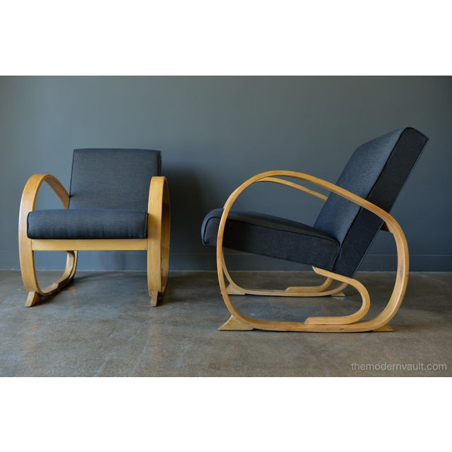 Astounding 1940S Art Deco Bentwood Chairs A Pair Spiritservingveterans Wood Chair Design Ideas Spiritservingveteransorg