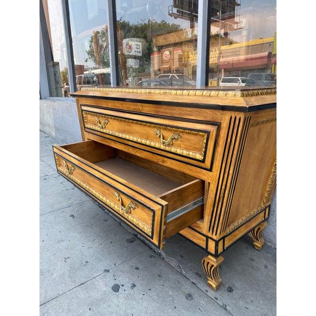 Vintage Hollywood Regency Dresser Commode For Sale In Los Angeles - Image 6 of 13