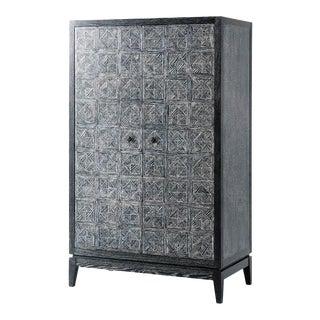 Modern Oak Bar Cabinet For Sale