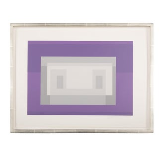 Josef Albers From Formulation: Articulation, 1972. Silkscreen Prints, Folio II / Folder 18 For Sale