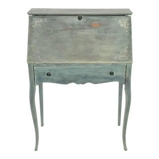 Ca. 1900 French Provincial Slant Top Secretary Desk For Sale