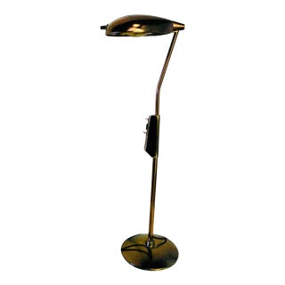 1940s Antique Industrial Hill Rom Medical Floor Lamp For Sale