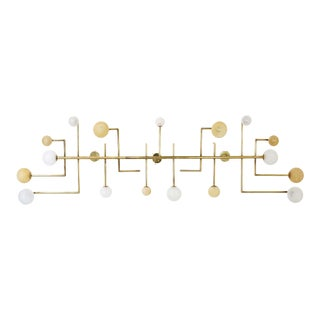 Brass Wall Lamp Vintage Domus Collection For Sale