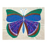 Image of Paule Marrot, Butterfly Blue, Unframed Artwork For Sale
