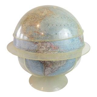 Vintage National Geographic World Globe