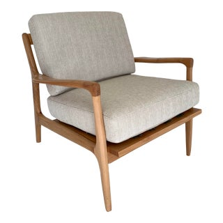 Mid Century Style Sculptural Lounge Chair For Sale