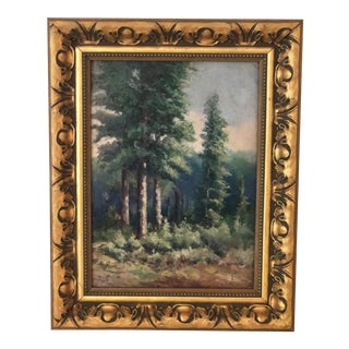 20th Century European Oil Painting For Sale