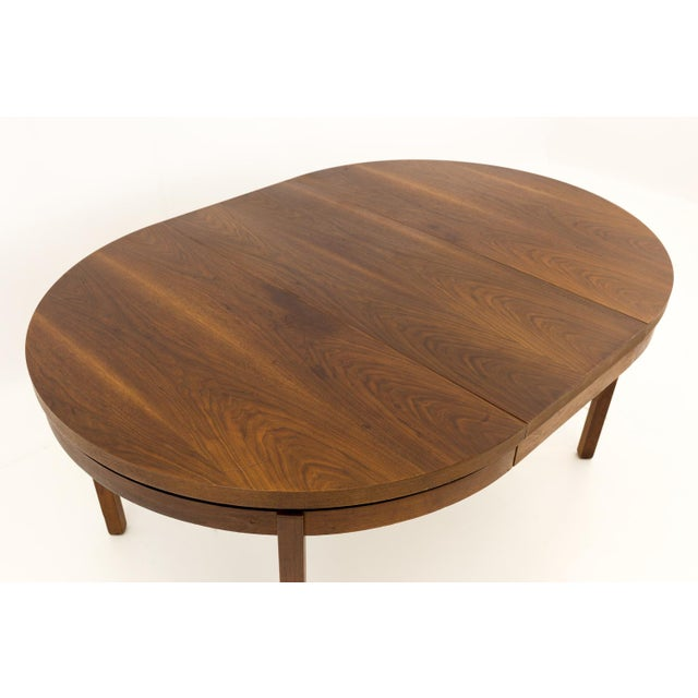Mid Century Modern Milo Baughman for Dillingham Esprit Round Dining Table For Sale - Image 9 of 13