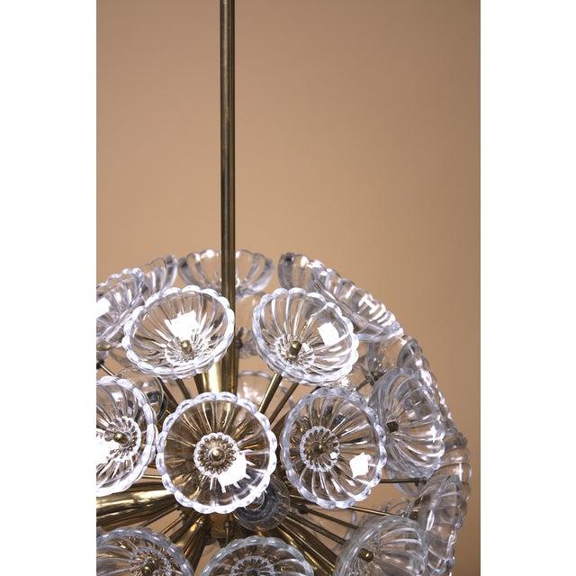 Austrian Dandelion Flower Sputnik Pendant - Image 4 of 9