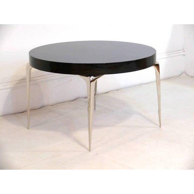 Custom CF Modern Stiletto Side Table - Image 6 of 6
