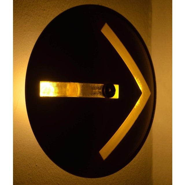 Traffic Signal Light Wall Sconce For Sale - Image 9 of 11
