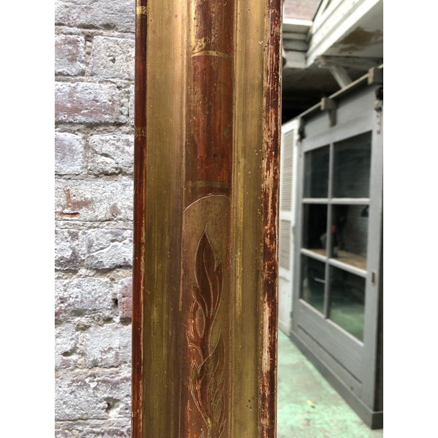 19th Century French Gilded Mirror For Sale - Image 9 of 12