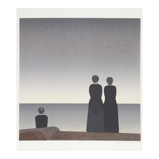 Will Barnet, Peter Grimes, Lithograph