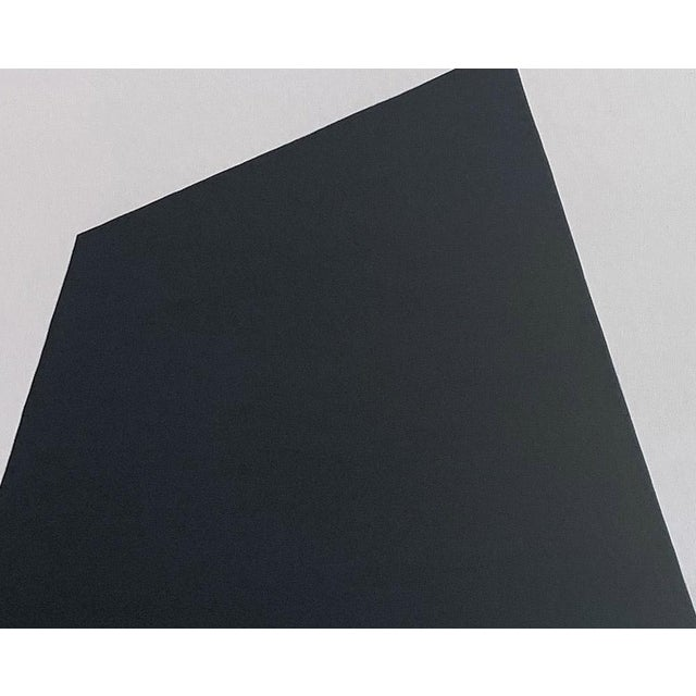 "Abstract Ulla Pedersen ""Untitled Black 2009"", Painting For Sale - Image 3 of 6"