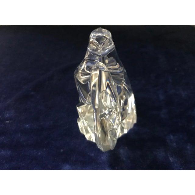 1980s Vintage Lloyd Atkins for Steuben Crystal Eagle Figurine For Sale - Image 5 of 9