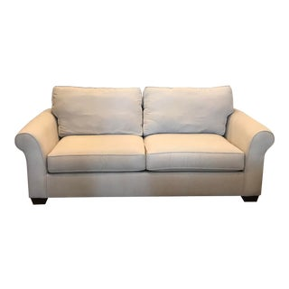 Pottery Barn Comfort Roll Arm Sofa For Sale
