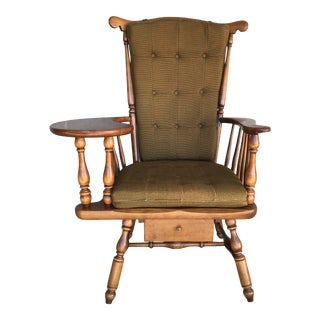 Heywood Wakefield Maple Windsor Style Desk Chair For Sale
