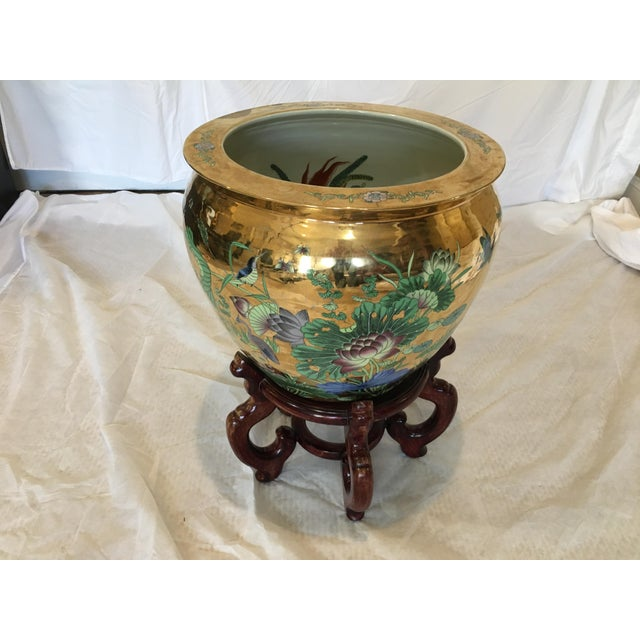 Decorative Porcelain Fish Bowl For Sale In New York - Image 6 of 6
