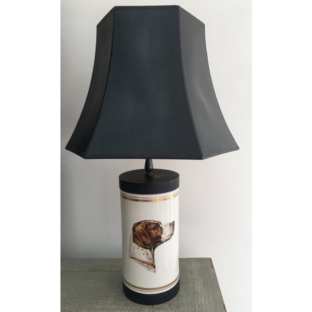 Frank Vosmanski for Abercrombie and Fitch Mid Century Dog Lamp For Sale - Image 13 of 13