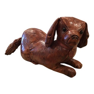 Abercrombie and Fitch Dimitri Omersa Leather Dog For Sale