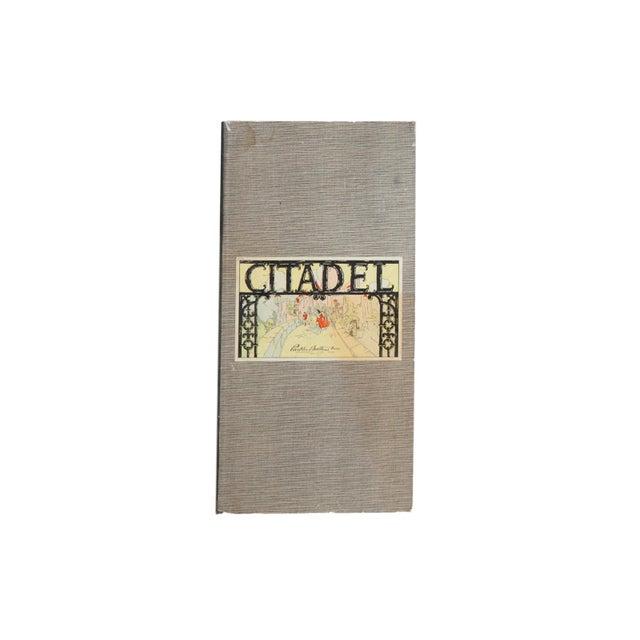 Paper Vintage Parker Brothers Citadel Game Board For Sale - Image 7 of 7