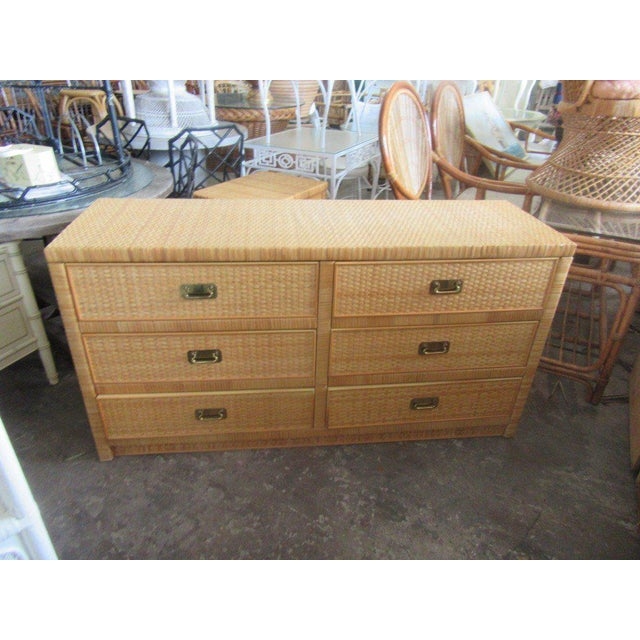 Woven Dixie Island Style Dresser - Image 2 of 9