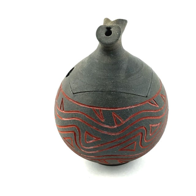 The Japanese have always been known for their artistic ability to create works of art from clay. This vase is an example....