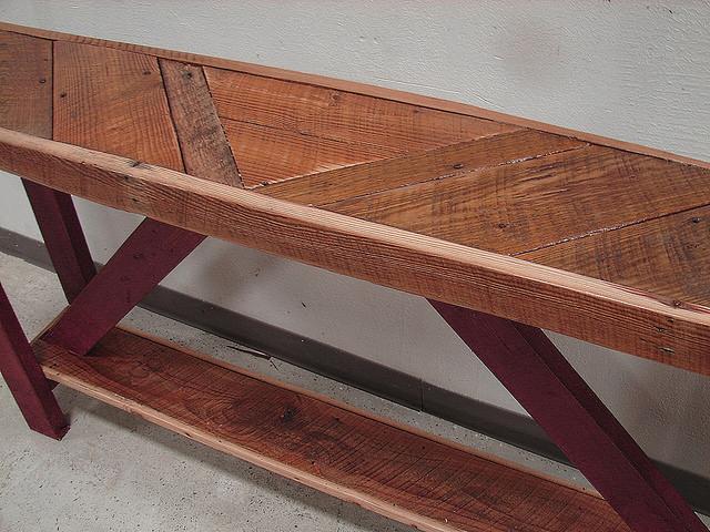 Reclaimed Barnwood Sofa Or Console Table Chairish