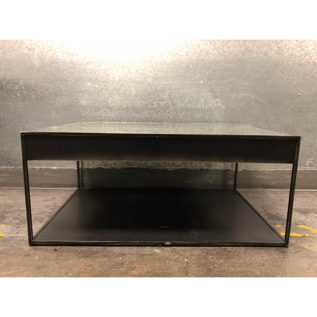 Restoration Hardware Gramercy Narrow Coffee Table With Drawers For Sale - Image 10 of 10