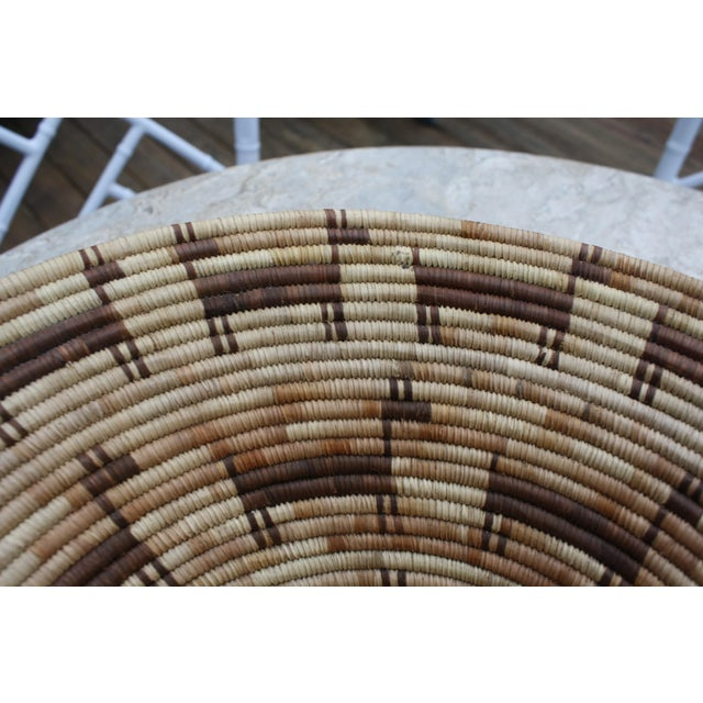 Tohono O'odham (Papago) Basket with Horses, Circa 1940's For Sale - Image 5 of 6